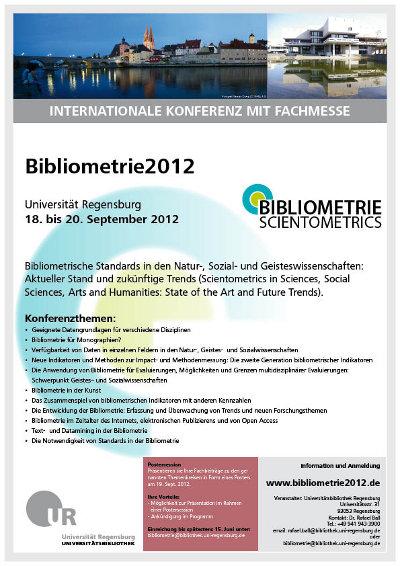 Bibliometrie2012